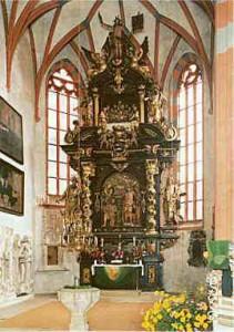 Barocker Hochaltar